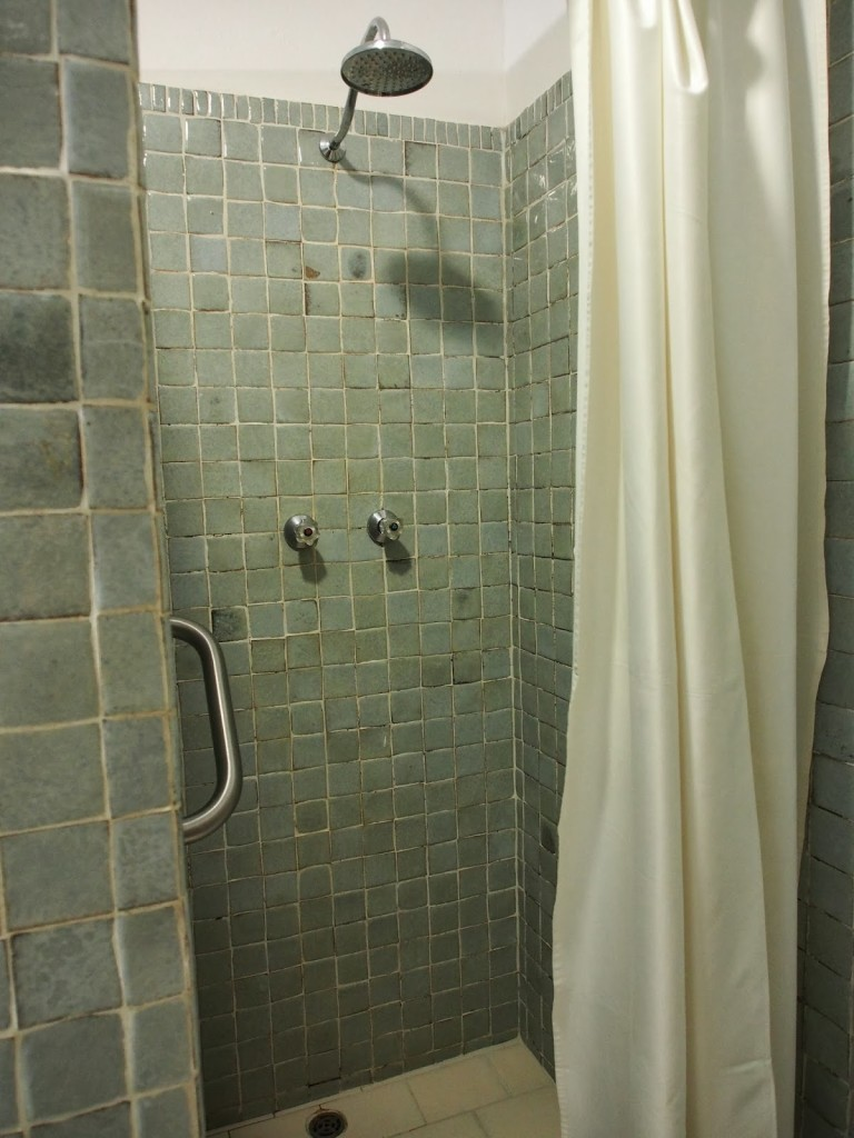 Separate rain shower