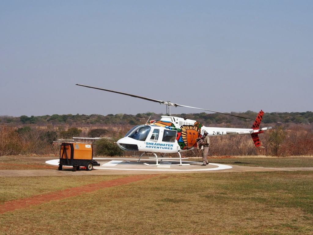 Shearwater helicopter