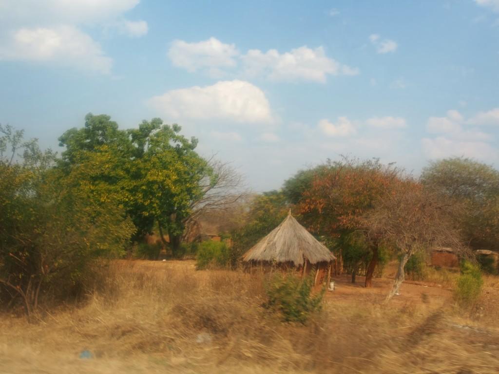 Little house in Zambia.