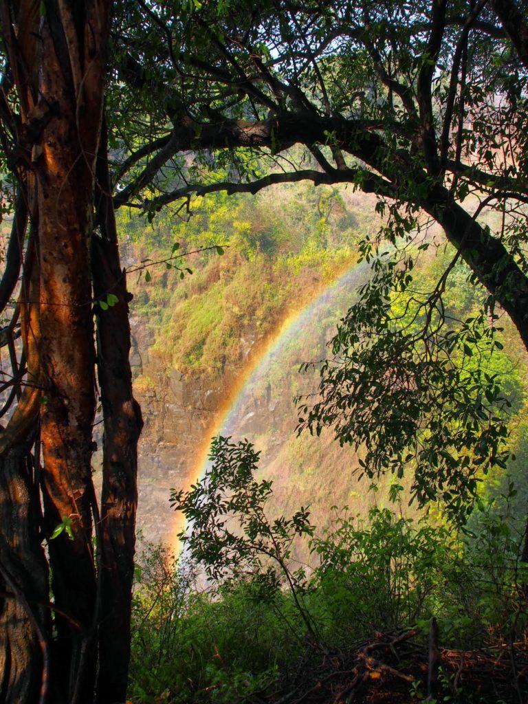 As long as the sun shines, the rainbow shows