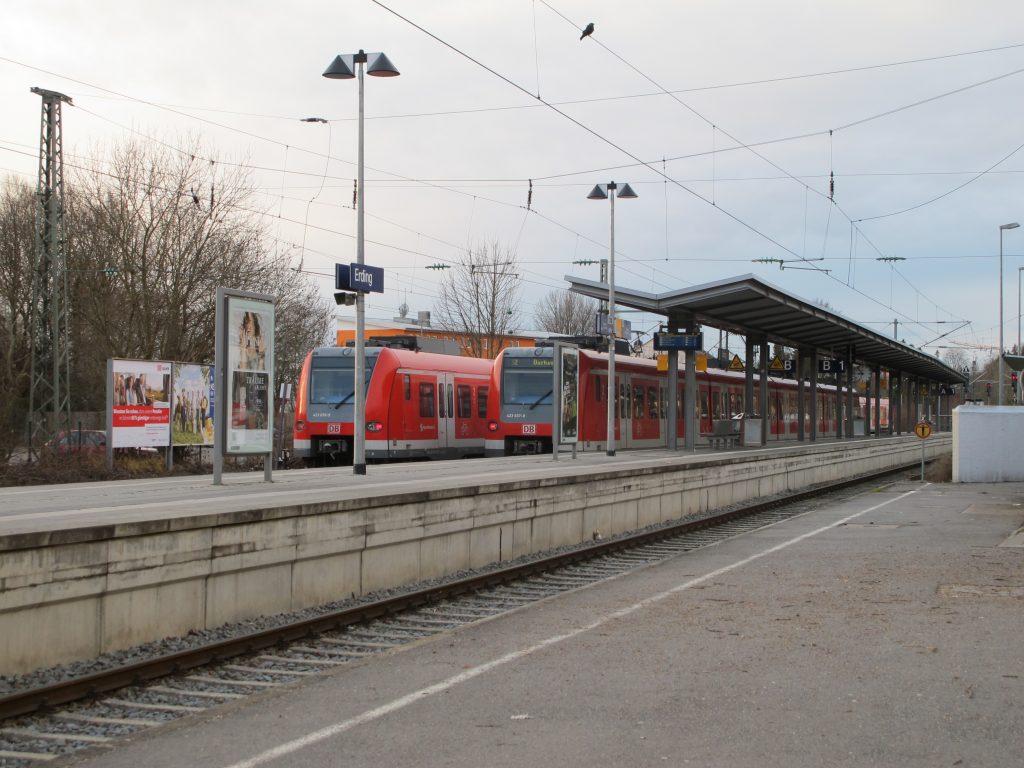 Trains to Munich.