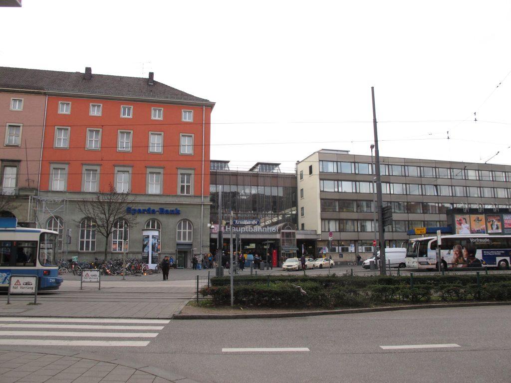 Munich main station.