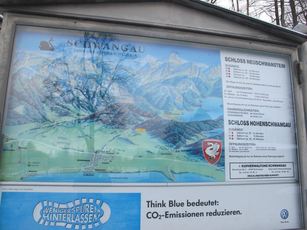 Map around the area.