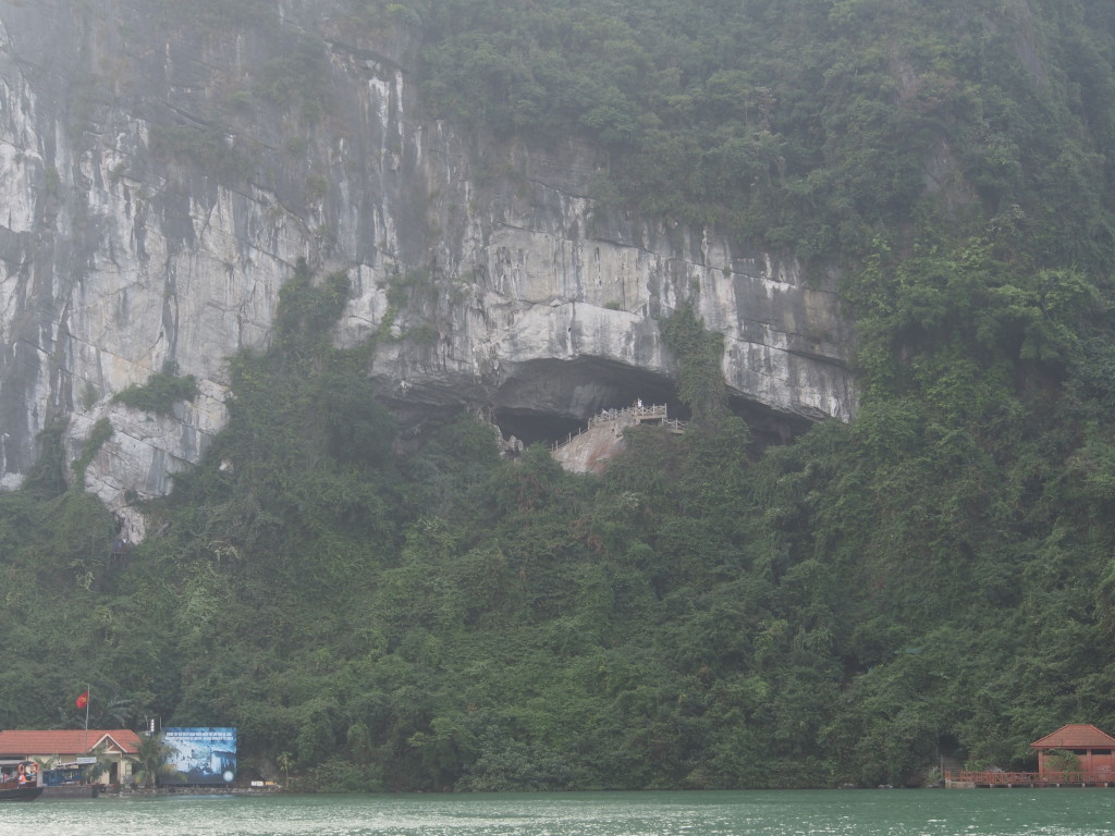 View of cave from the cruise.