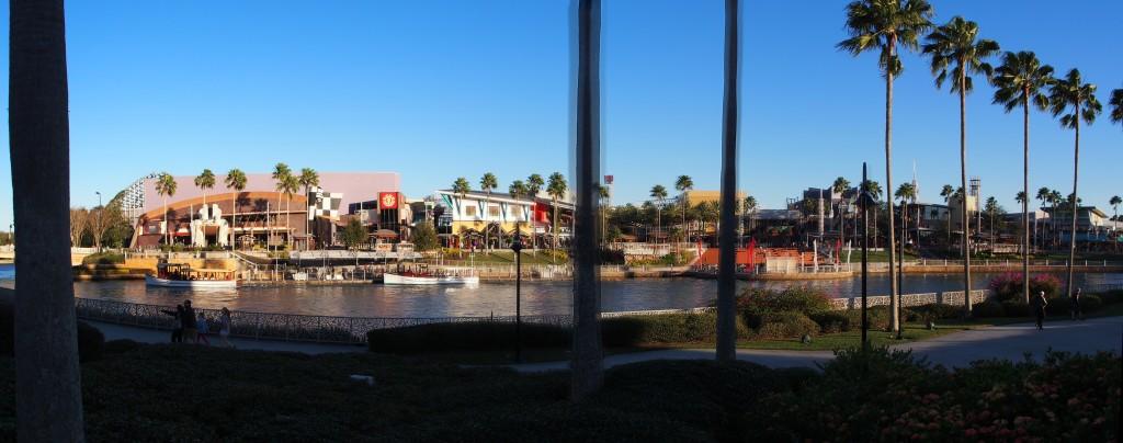 Panoramic of the City walk.