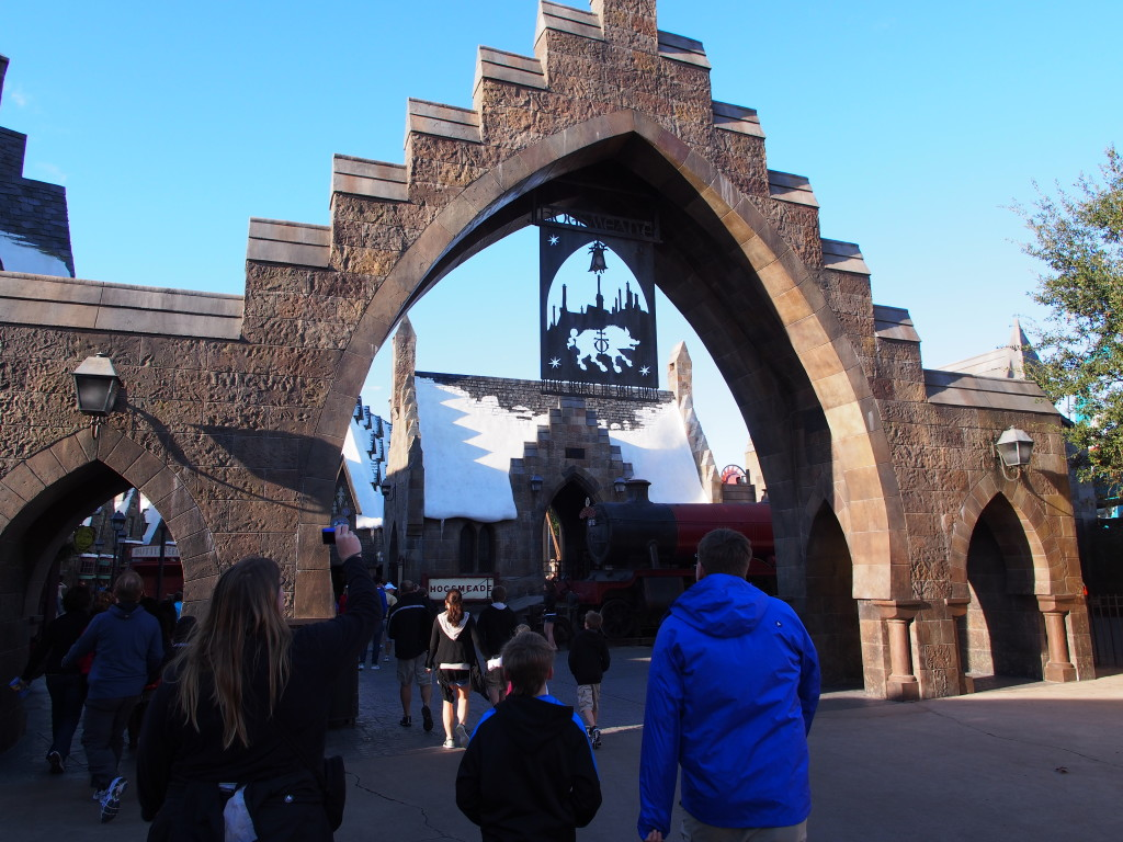 Entrance to the Harry Porter section.