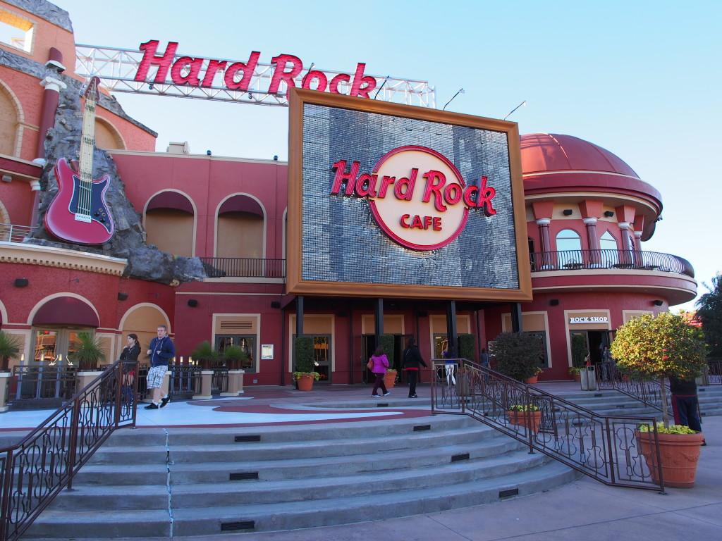 Hard Rock Cafe of Orlando.