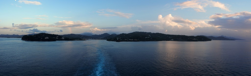 Leaving St Lucia 2