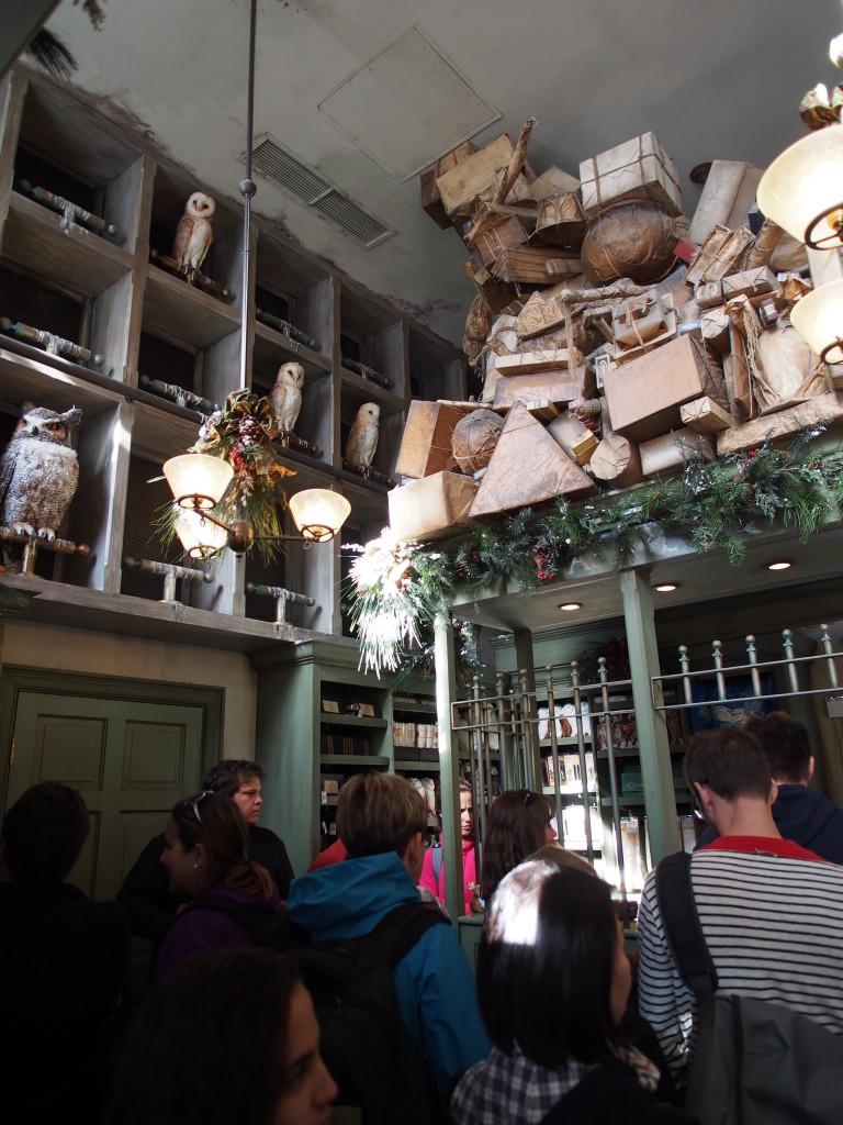 Inside the Owl Post.