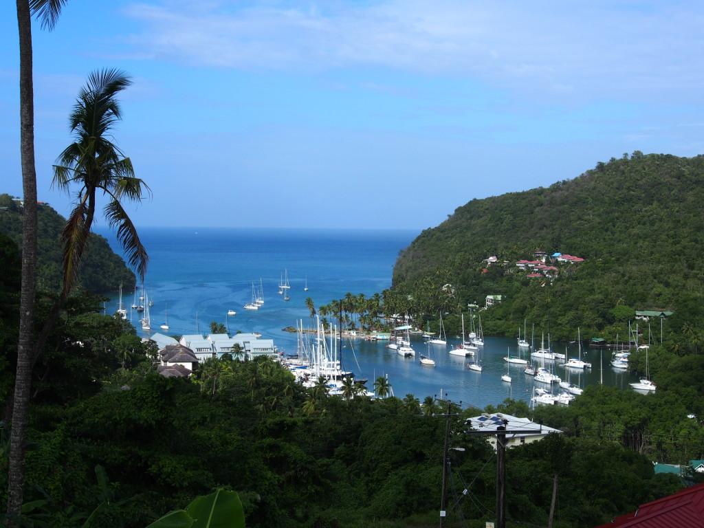 Marigot Bay.