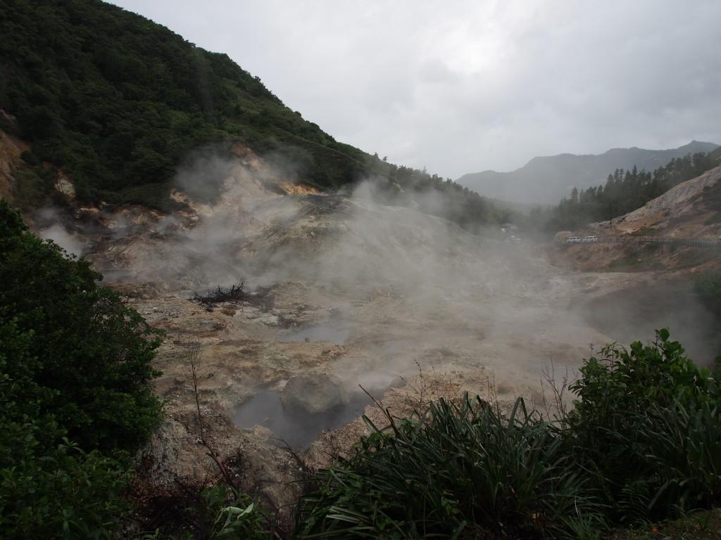 La Soufriere drive-in volcano.