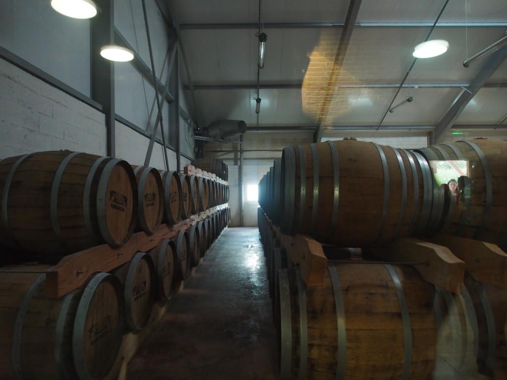 Barrels of goodies.
