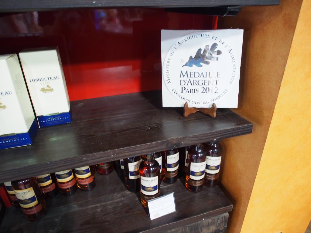 Award winning rum.