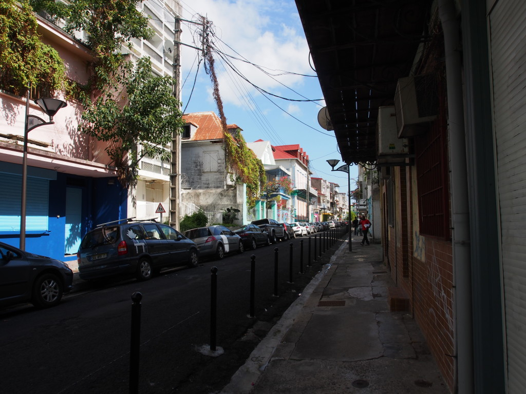 Quiet streets.