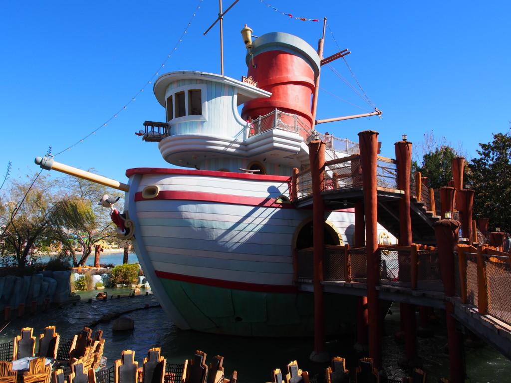 Popeye's boat.