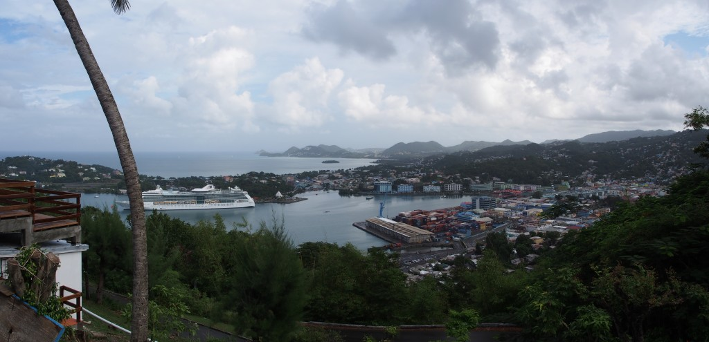 View of the port.