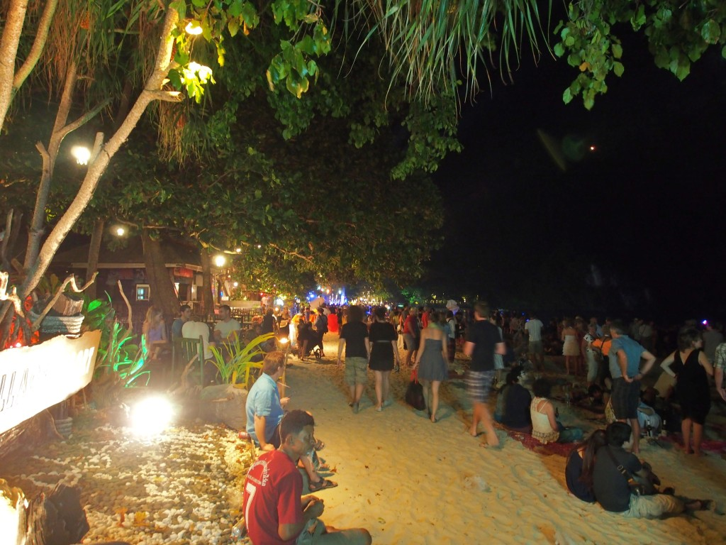Busiest beach night of the year.