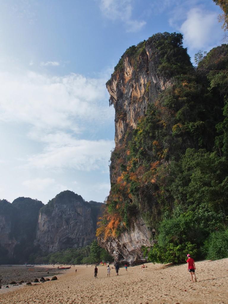 Tonsai high cliff.