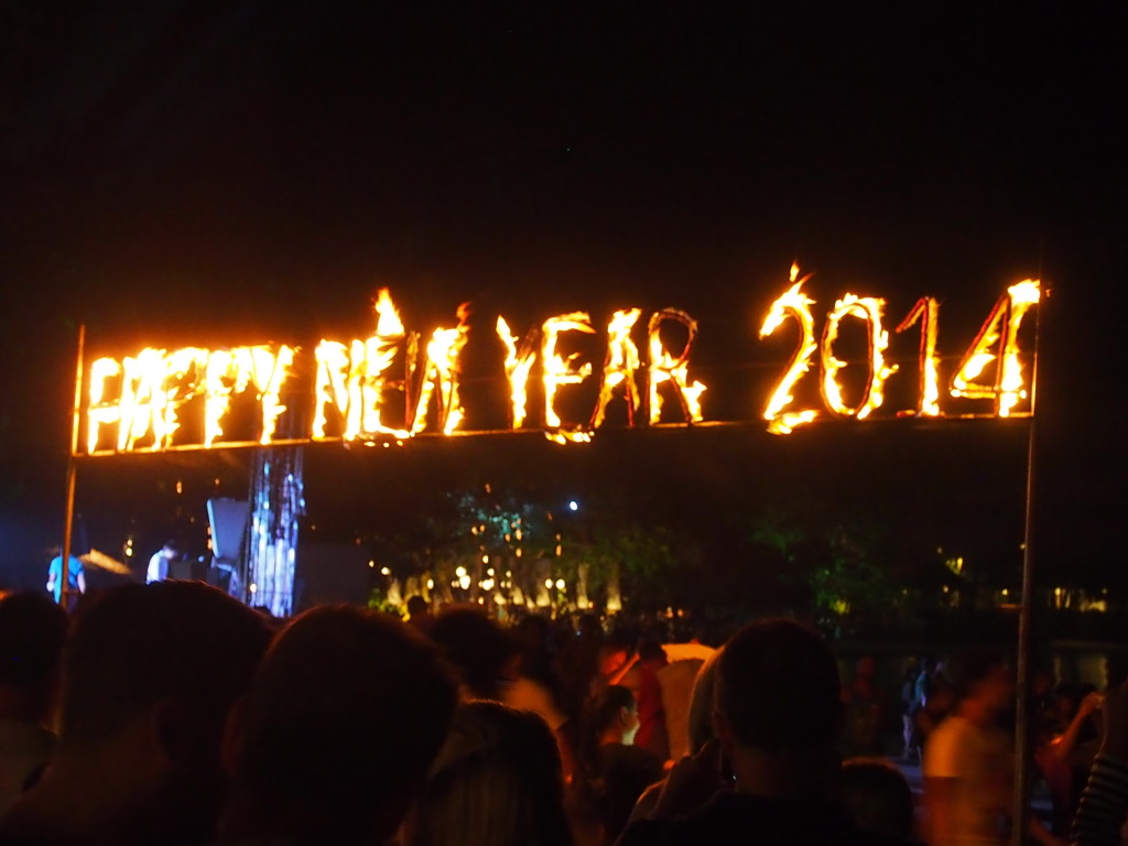 Happy New Year Sparklers.