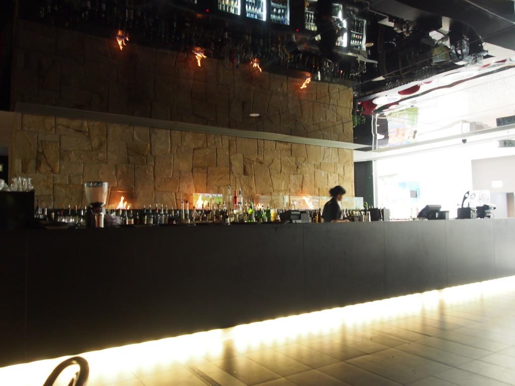 Bar Counter at Hurricane.