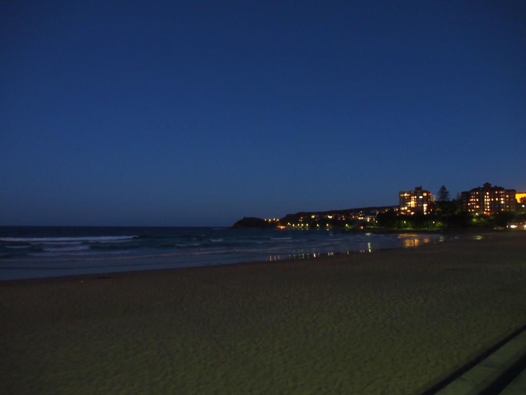 Manly beach.