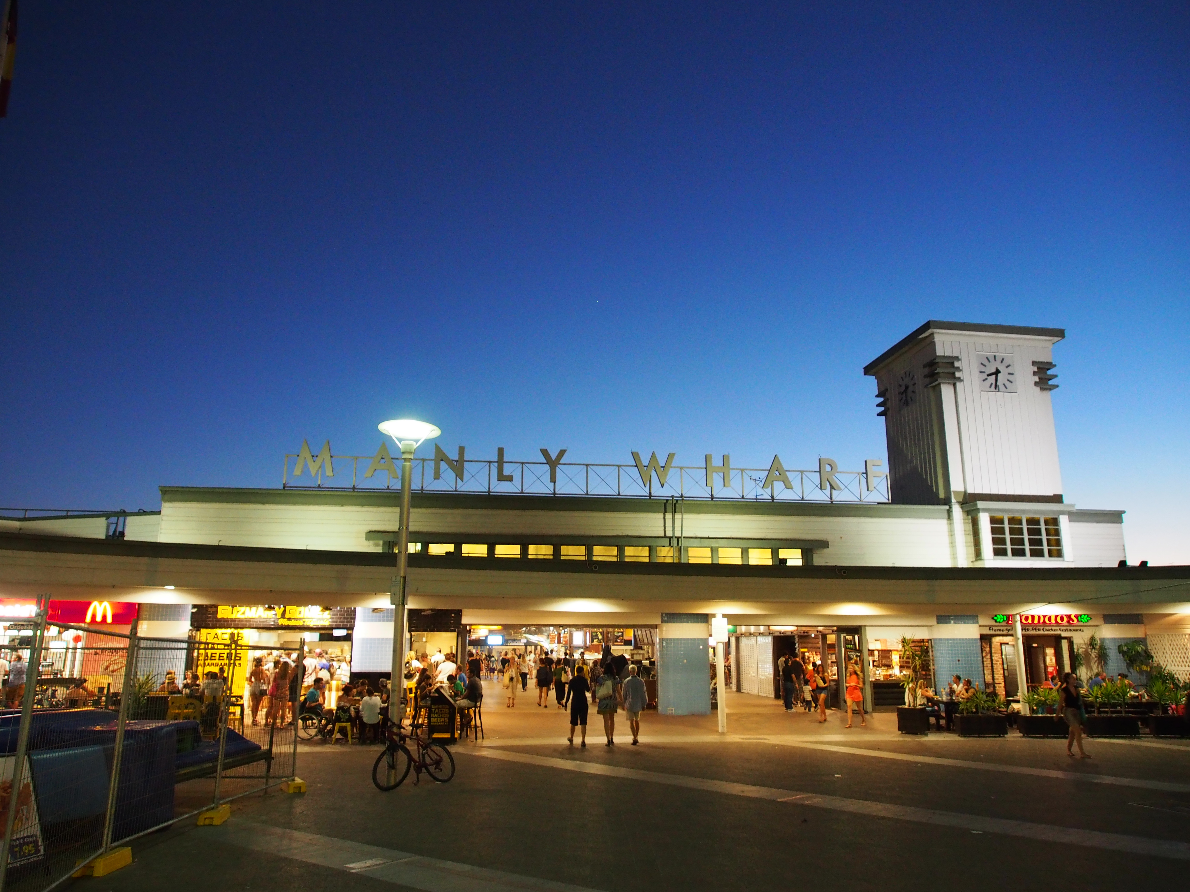 Manly ferry wharf - Wikipedia