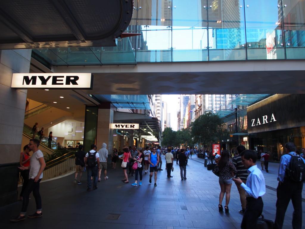 Myer Shopping Mall.