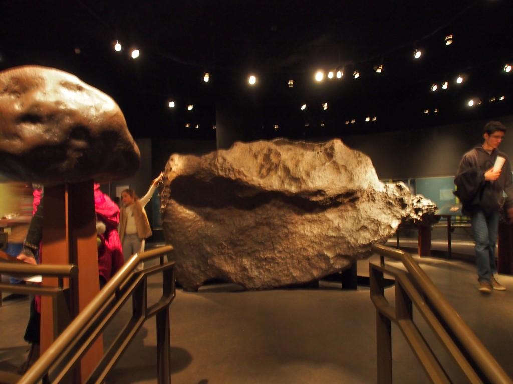 Tonnes of meteorite.