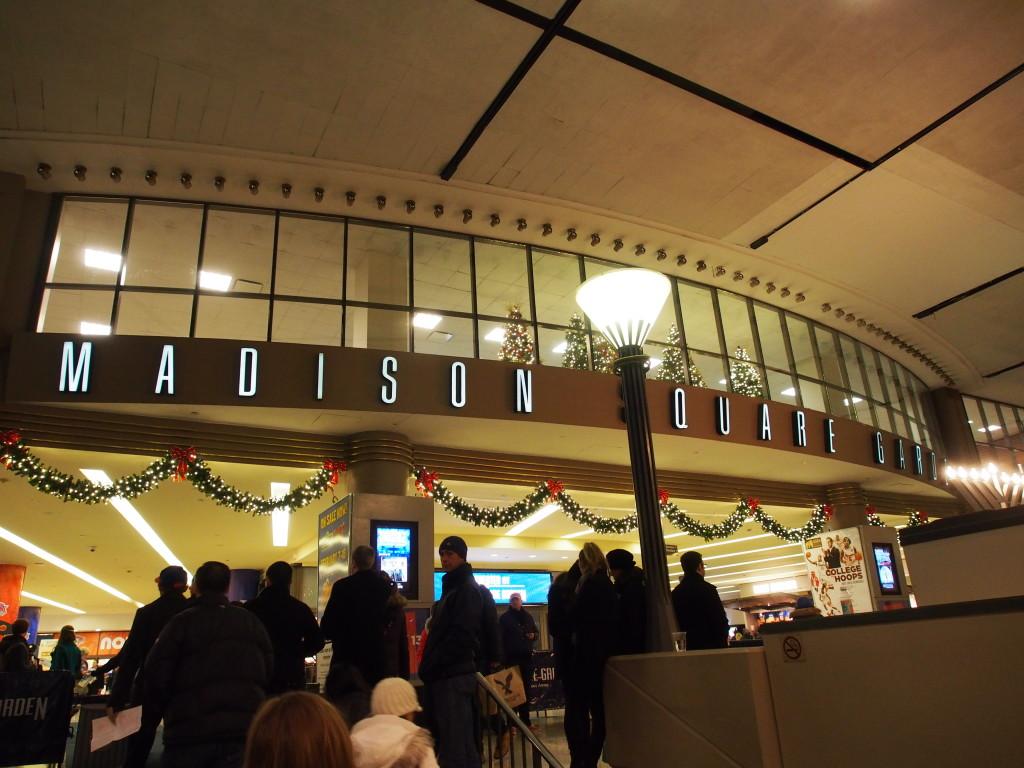 Madison Square Garden.