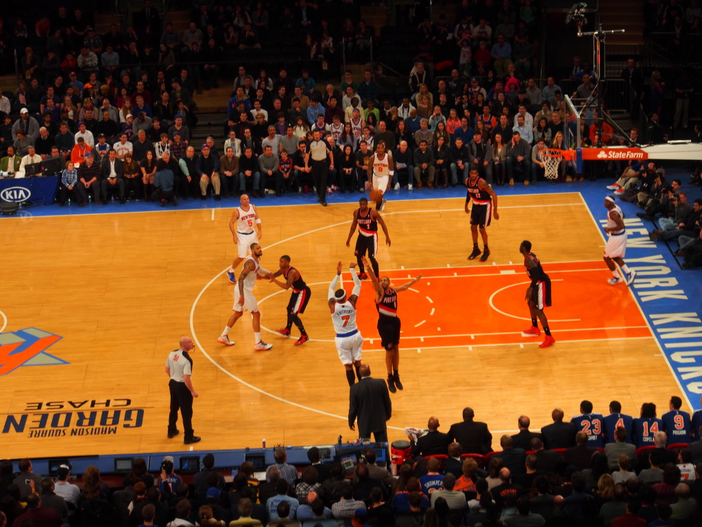 Sharp shooter Carmelo Anthony.