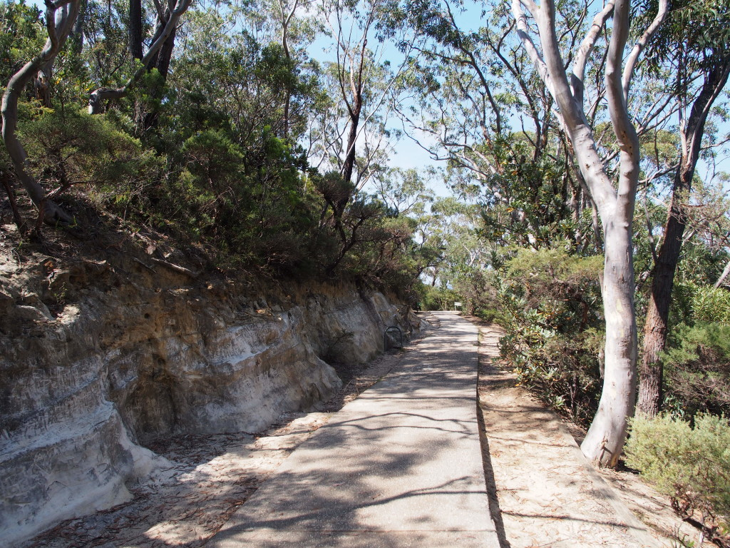 Pathway for the 10mins return to 3 sisters.