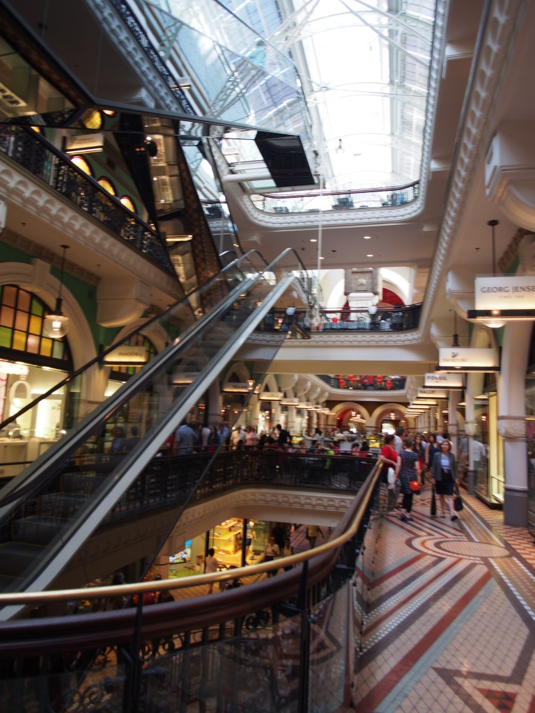 Within QVB.