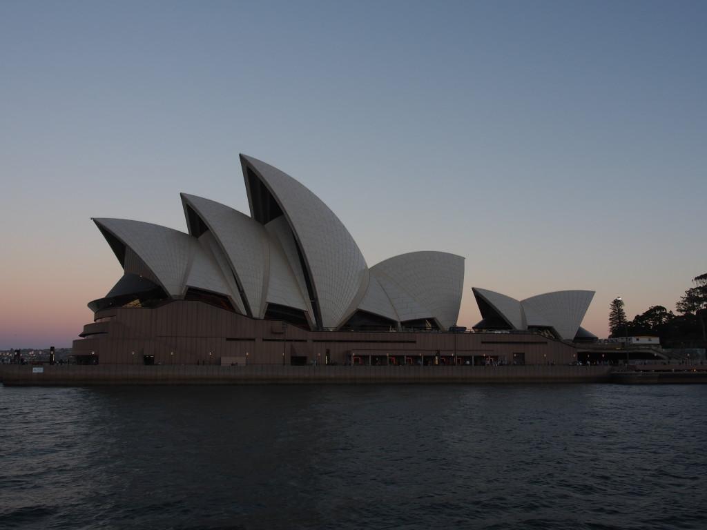 Sunset at Opera House.