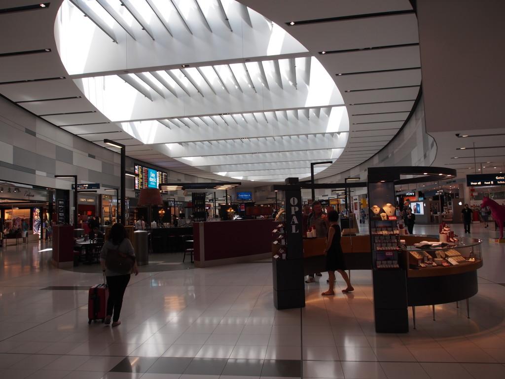 Sydney International Airport.