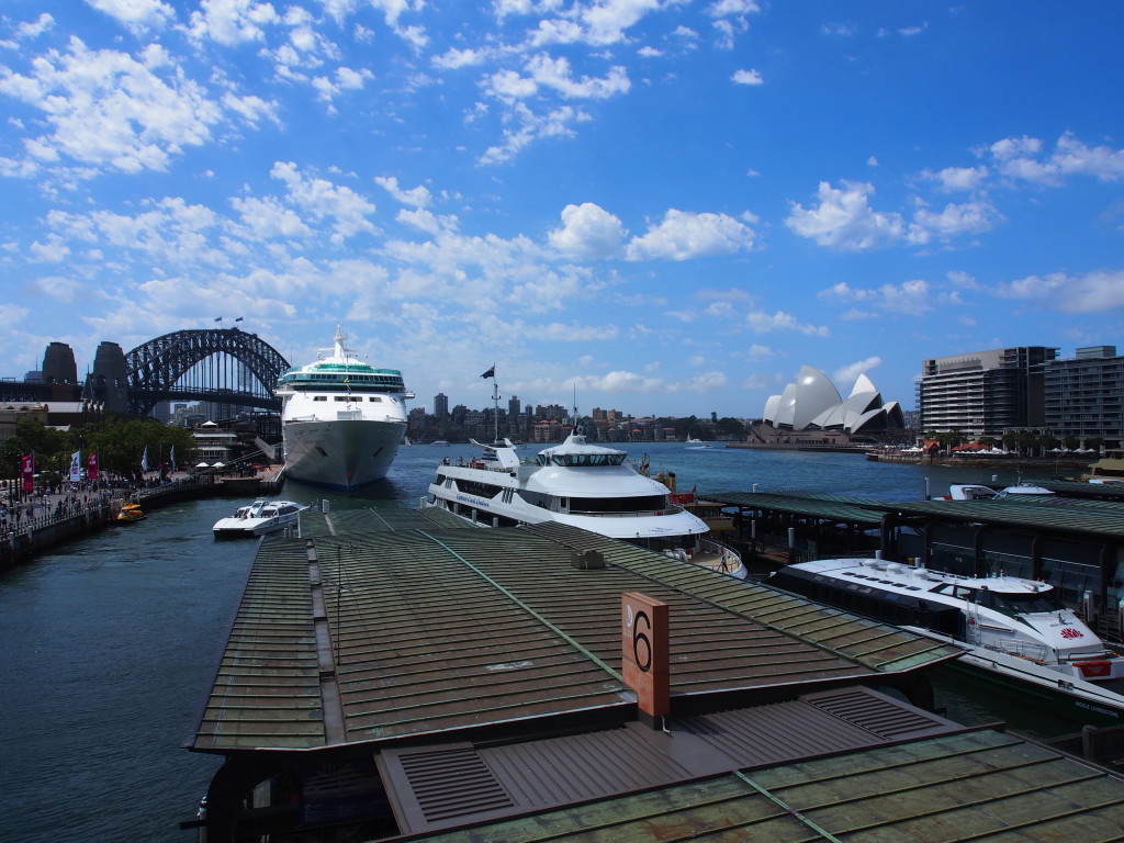 View from Circular Quay Station.