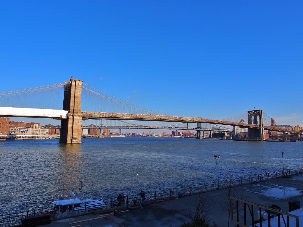 Brooklyn Bridge from Pier 17.