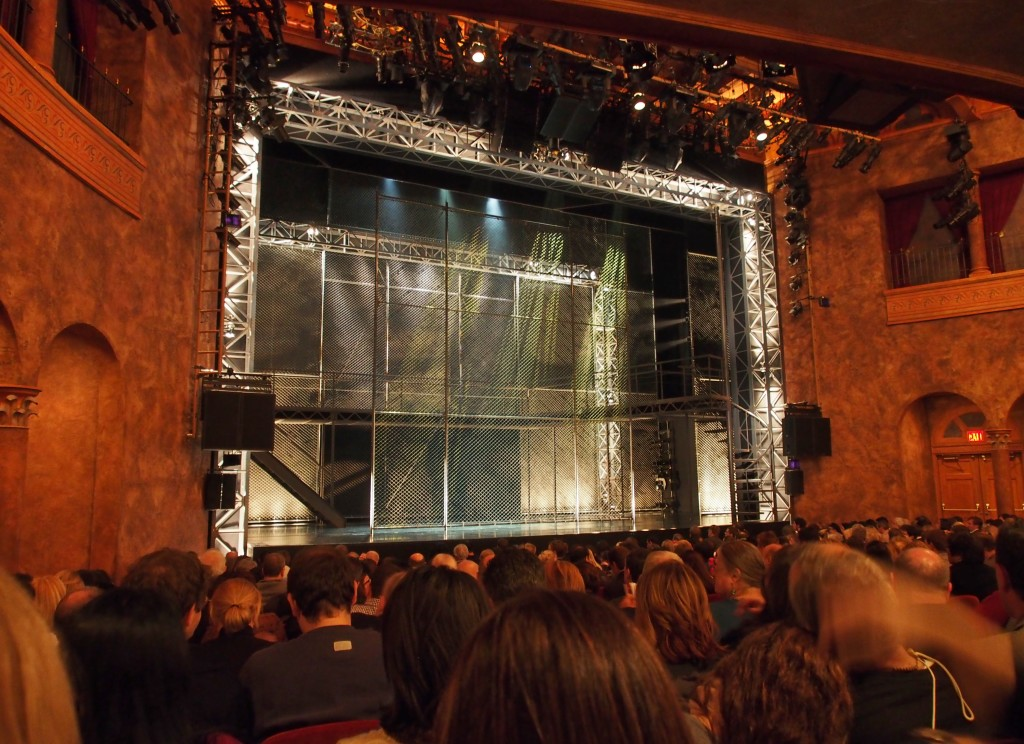 Stage of Jersey Boys Musical