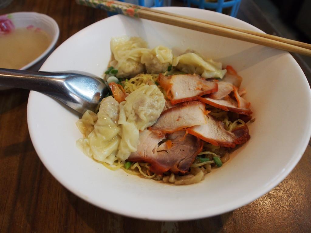 Wanton noodles.