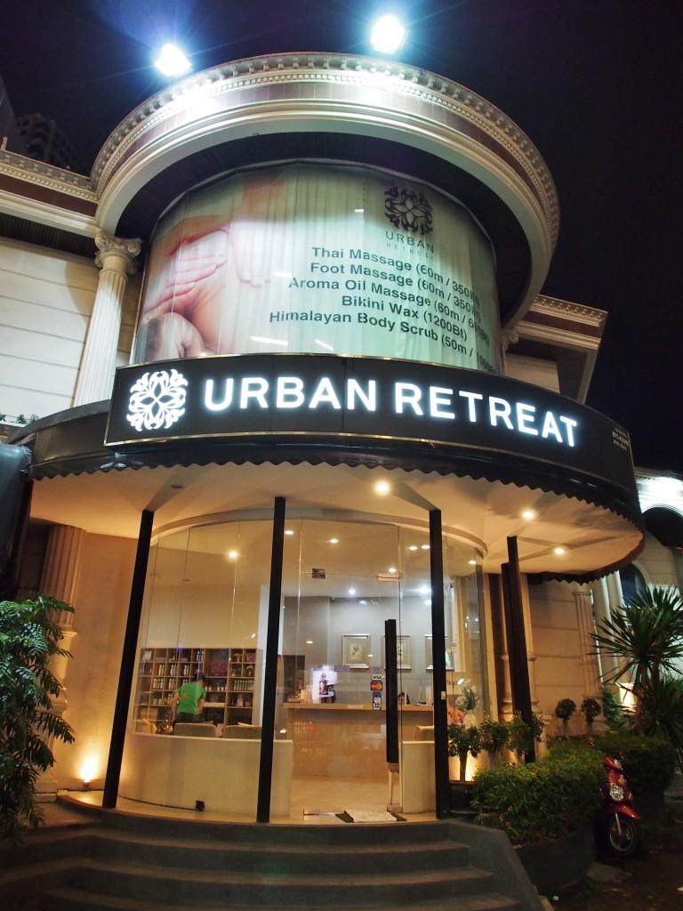 Urban Retreat Spa.