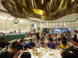 Inside Ho Hung Kee restaurant