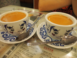 Popular milk tea.