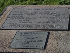 Batman bridge info.