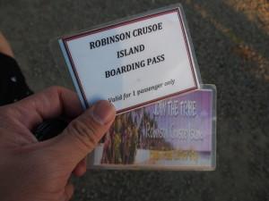Boarding passes.