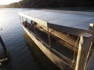 Boat to transfer to Likuri island.