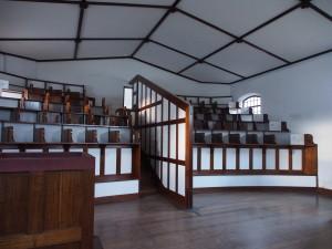 Chapel in the prison.
