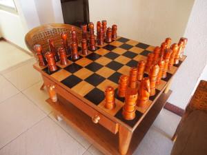 Giant chess.