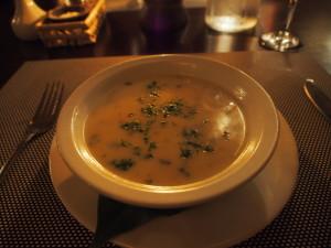 Chicken Coriander soup.