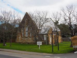 Smaller church in town.