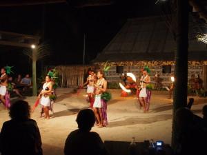Fijian dance. All night long.