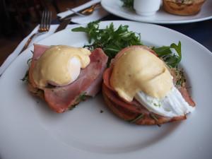 Egg benedict, super delicious.